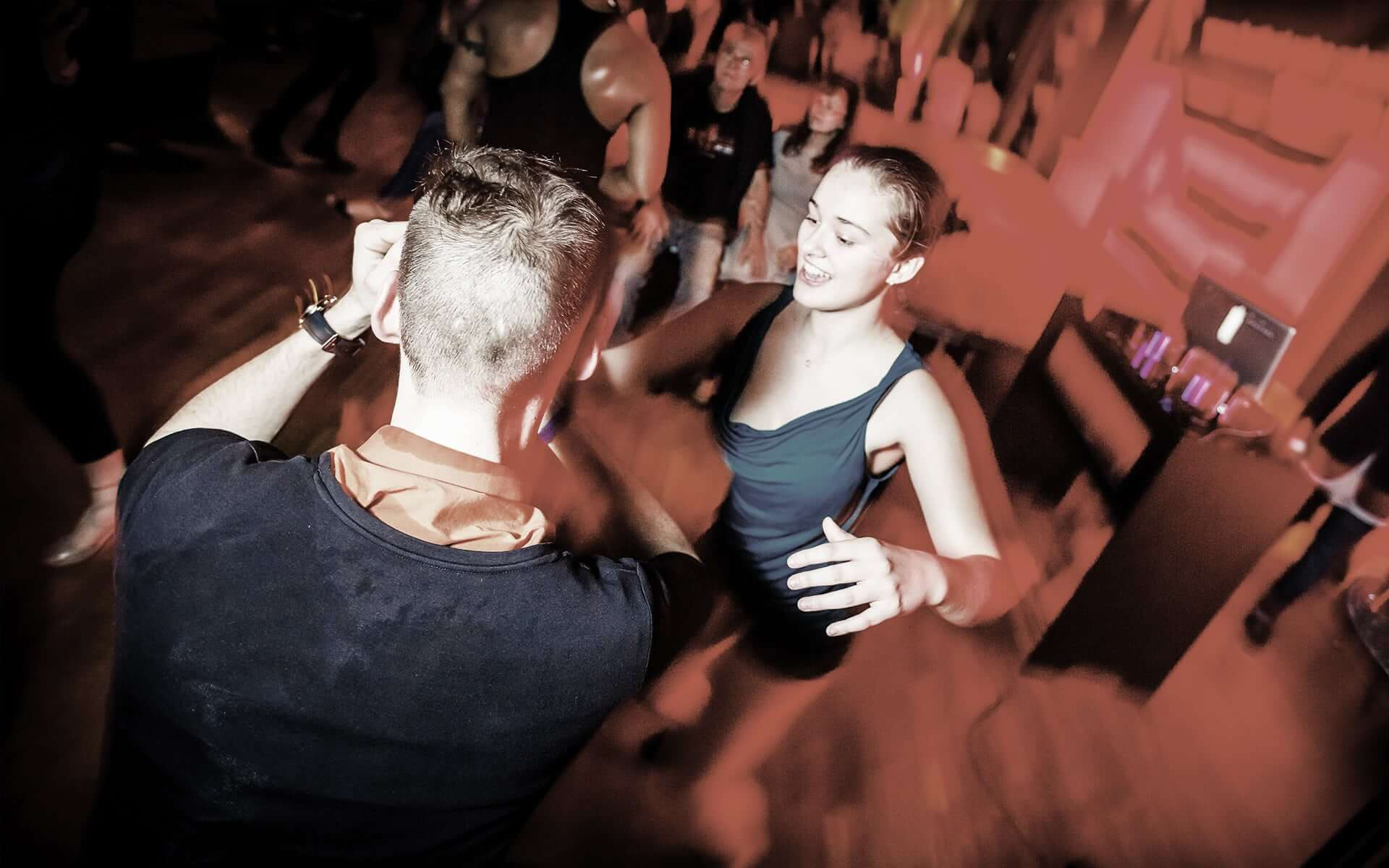 Gesellschaftstanz Party Pärchen Tanz
